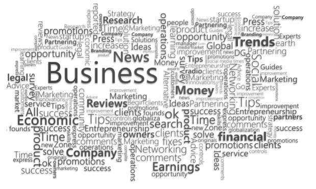 Business Word Mapping
